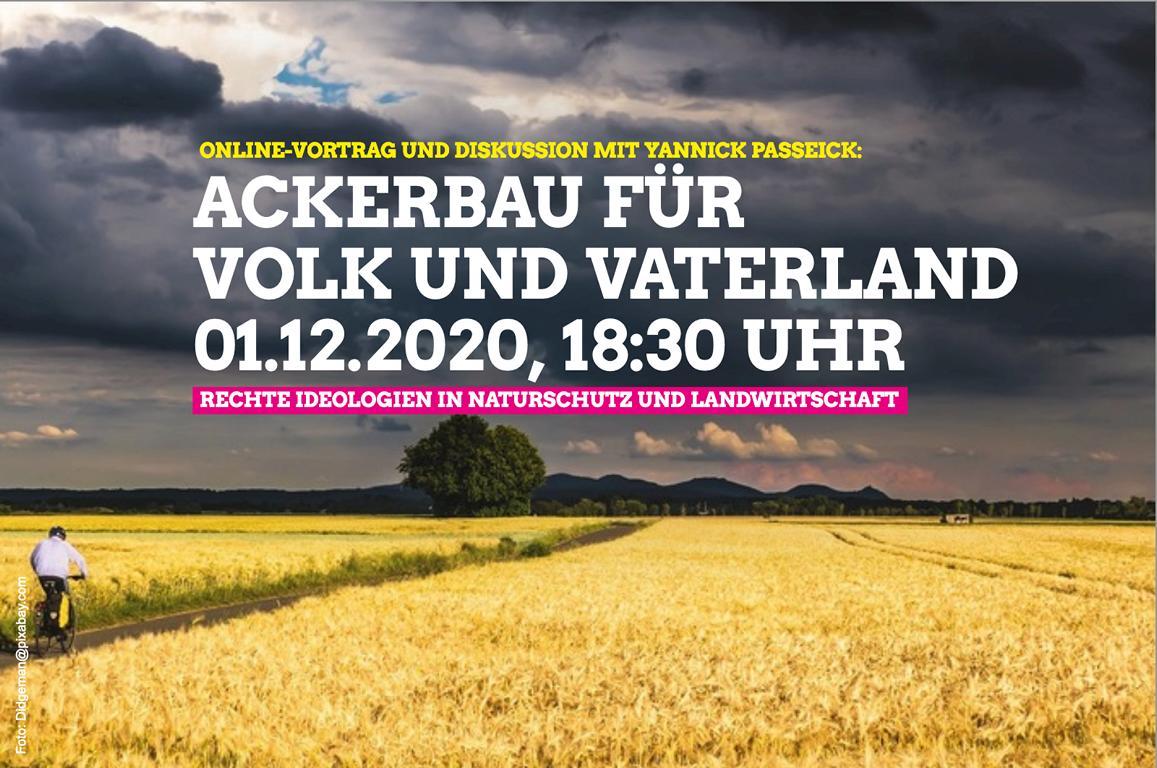 Ackerbau für Volk und Vaterland